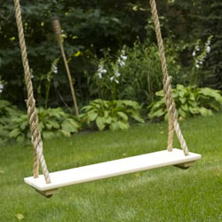 Traditional Wooden Tree Swing