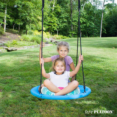 Flying Saucer Tree Swing Kit - Comes Fully Assembled