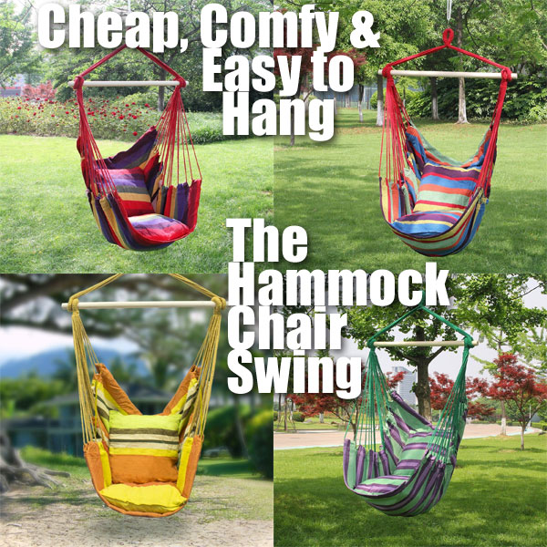 Cheap, Comfy U0026 Easy To Install   The Hammock Chair Swing