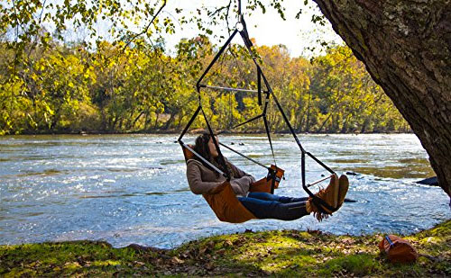 The Hanging Lounger Chair For More Than Just Camping