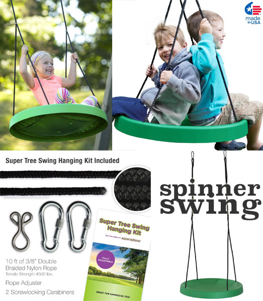 Super Spinner Swing & Tree Hanging Kit