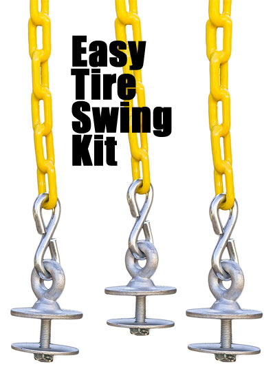 How To Make A Tire Swing 3 Easy Inexpensive Ways