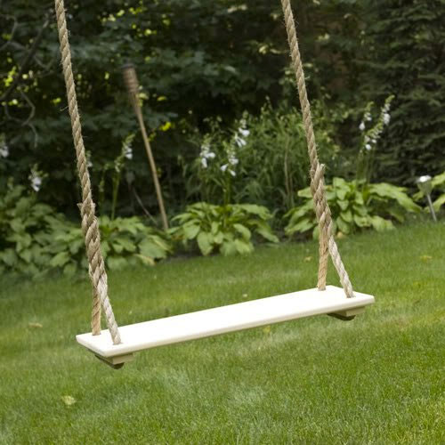 How to make and hang a wooden tree swing Wood tree swing and hanging kit